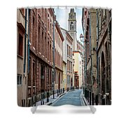 Street In Toulouse Shower Curtain