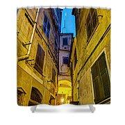 Street In Vernazza Shower Curtain