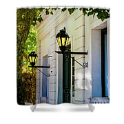 Street Kights Colonia Shower Curtain