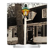 Street Lamp Shower Curtain