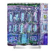 Street Life Shower Curtain