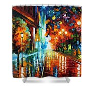 Street Of Hope Shower Curtain
