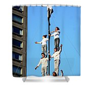 Street Performers 14 Shower Curtain