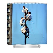 Street Performers 15 Shower Curtain