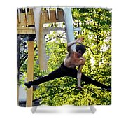 Street Performers 19 Shower Curtain