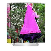 Street Performers 3 Shower Curtain