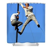 Street Performers 6 Shower Curtain