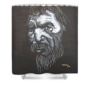 Street Person Shower Curtain