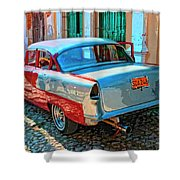 Street Racer Shower Curtain