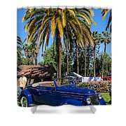 Street Rod In Meguiar's Circle Of Excellence Shower Curtain
