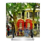 Street Scenic Shower Curtain