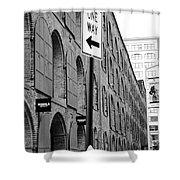 Street Sign Shower Curtain