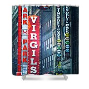 Street Signs Of New York Shower Curtain