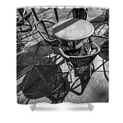 Street Texture Shower Curtain