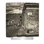 Streets Of Antigua - Guatemala Shower Curtain