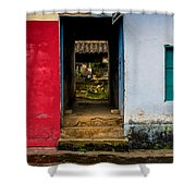 Streets Of Ataco 3 Shower Curtain