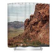 Streets Of Fire Shower Curtain
