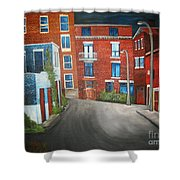 Streets Of Montreal  Joly Shower Curtain