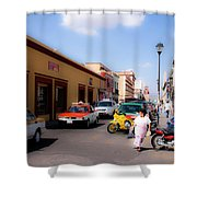 Streets Of Oaxaca Mexico 1 Shower Curtain