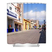 Streets Of Oaxaca Mexico 2 Shower Curtain