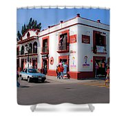 Streets Of Oaxaca Mexico 3 Shower Curtain