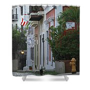 Streets Of Old San Juan Shower Curtain