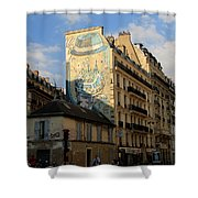 Streets Of Paris 6 Shower Curtain
