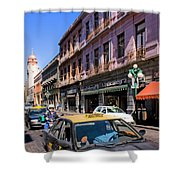 Streets Of Puebla 3 Shower Curtain