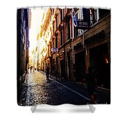 Streets Of Rome 2 Shower Curtain