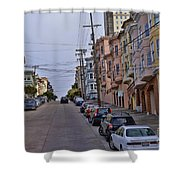 Streets Of San Francisco -2 Shower Curtain
