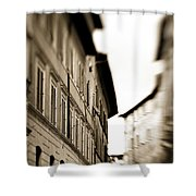 Streets Of Siena 2 Shower Curtain