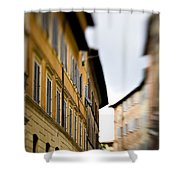 Streets Of Siena Shower Curtain