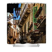 Streets Of Siracusa Shower Curtain