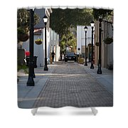 Streets Of St. Augustine Shower Curtain