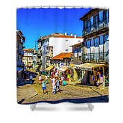 Streets Of Valenca Shower Curtain