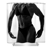 Strength And Grace Shower Curtain