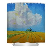 Strength For The Journey Ahead Shower Curtain