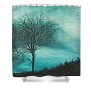 Strength In The Midst Shower Curtain