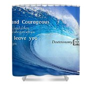 Strength2 Shower Curtain