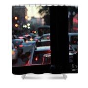 Stret Car Traffic Shower Curtain