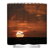 Stretch And Rise Shower Curtain