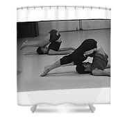 Stretch Bend And Roll Shower Curtain