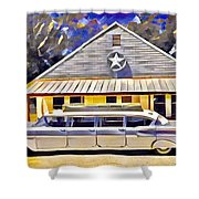 Stretch Chevy Shower Curtain