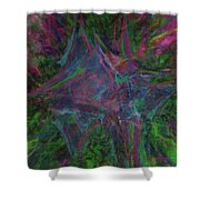 Stretched Colors Shower Curtain