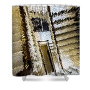 Stretched Stairs Shower Curtain