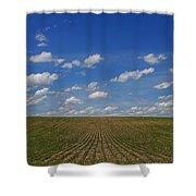 Stretching To The Horizon Shower Curtain