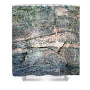 Striations 2 Shower Curtain