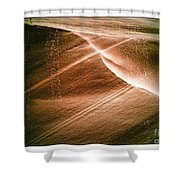 Striations. Shower Curtain