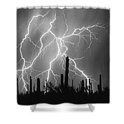 Striking Photography In Black And White Shower Curtain