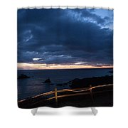 String Of Pearls Shower Curtain